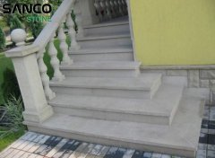 Grey Sandstone Stairs A
